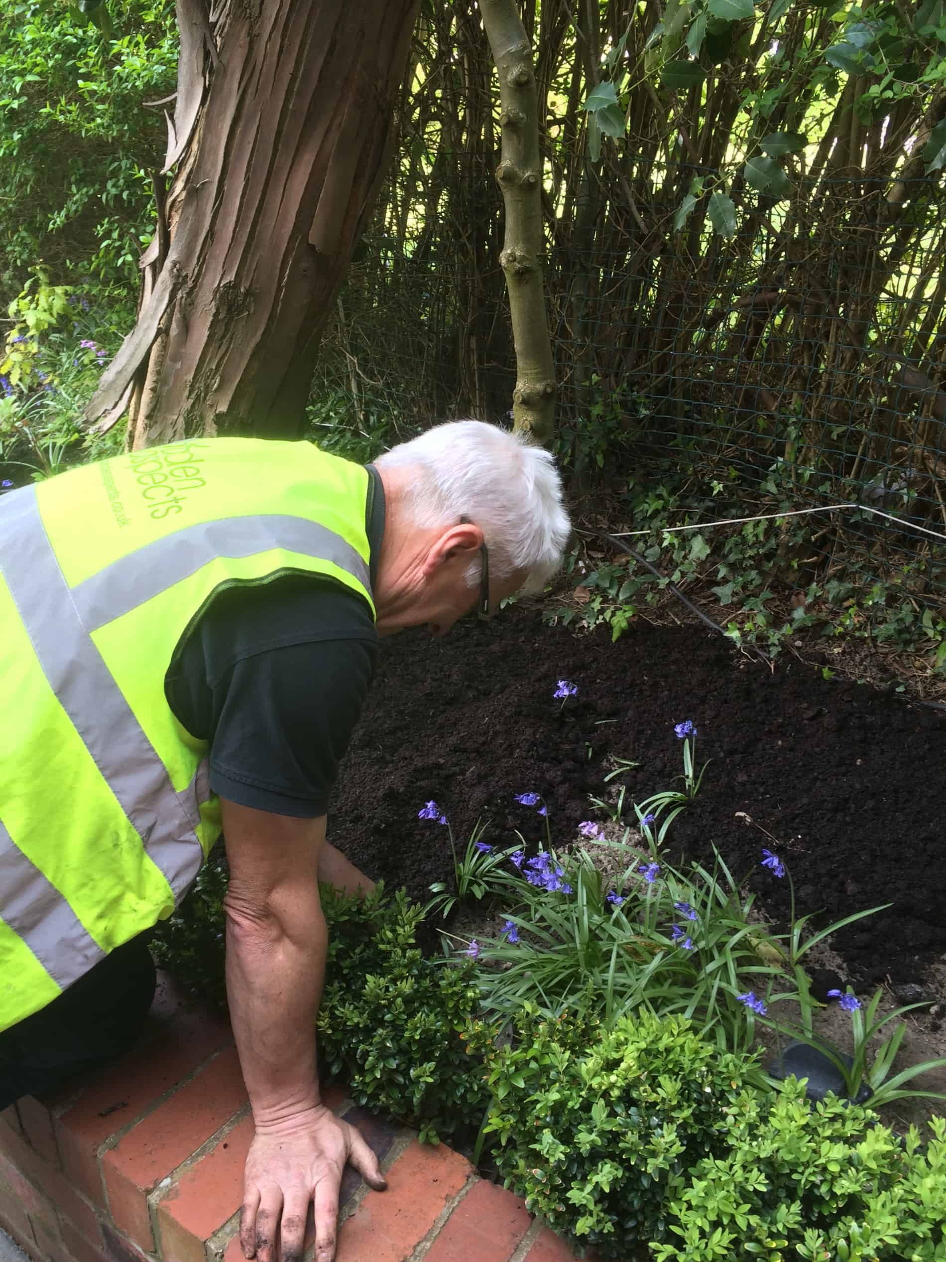 Gardening flower beds